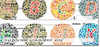 Polka Dot Perception Personal Checks
