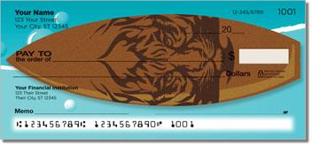 Surfboard Personal Checks