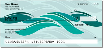 Stylized Wave Checks