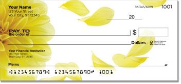 Dahlia Petal Personal Checks