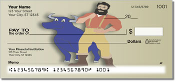 American Folklore Personal Checks