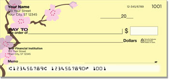 Sakura Print Personal Checks