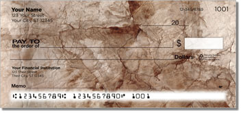 Weathered Paper Personal Checks