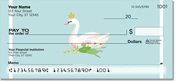 Mute Swan Personal Checks