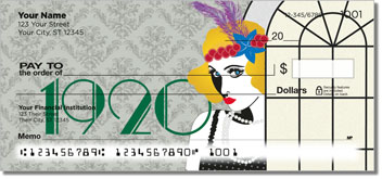 Roaring Twenties Personal Checks