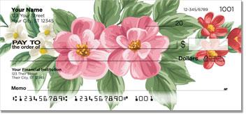 Tropical Flower Personal Checks