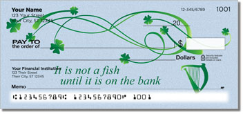 Irish Proverb Personal Checks