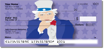 Uncle Sam & Friends Personal Checks