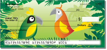 Bird Paradise Personal Checks