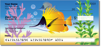 Tropical Fish 2 Personal Checks