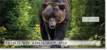 Fuzzy Bear Personal Checks