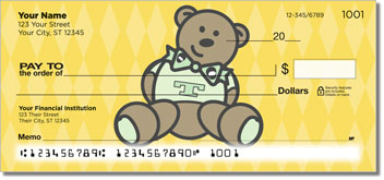 Teddy Bear Personal Checks