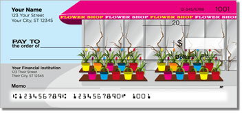 Flower Shop Personal Checks