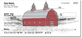 Barn Style Personal Checks
