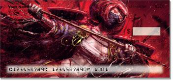 Ninja & Samurai Personal Checks