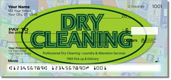 Dry Cleaning Personal Checks
