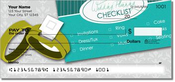 Wedding Planner Personal Checks