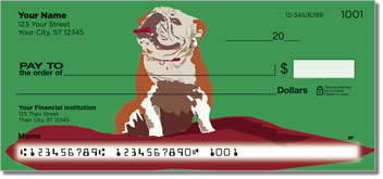 Bulldog Pop Art Checks