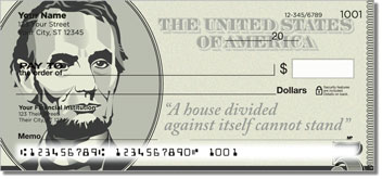 Abraham Lincoln Personal Checks