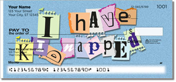 Ransom Note Personal Checks