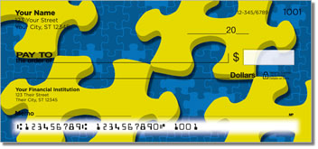 Jigsaw Puzzle Personal Checks