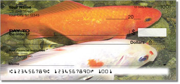 Koi Pond Personal Checks