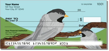 Black-Capped Chickadee Personal Checks