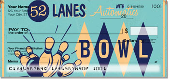 Bowling Alley Personal Checks