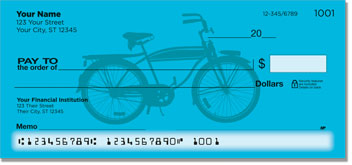 Classic Bicycle Personal Checks