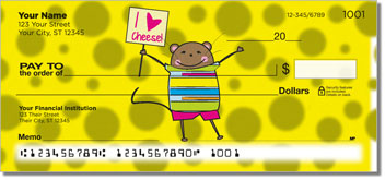 Mischievous Mice Personal Checks