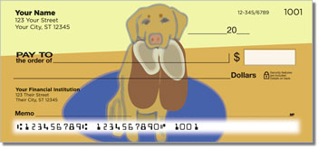 Loyal Companion Labrador Drawings Checks