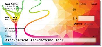 Ribbon Dancing Personal Checks