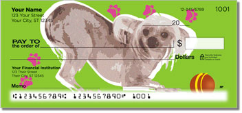Chinese Crested Dog Personal Checks