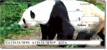 Bears of the World Personal Checks