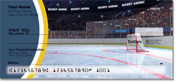 Blue & Gold Hockey Checks