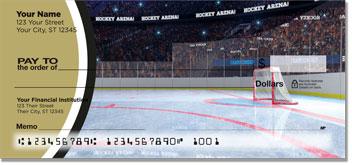 Black & Gold Hockey Checks