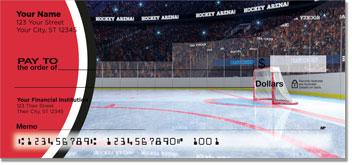 Red & Black Hockey Checks