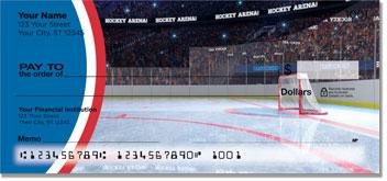 Red & Blue Hockey Checks