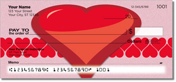 Heart Perspective Personal Checks