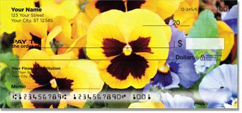 Pansy Personal Checks