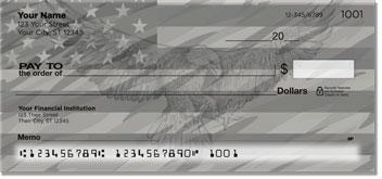 Patriotic Eagle Personal Checks