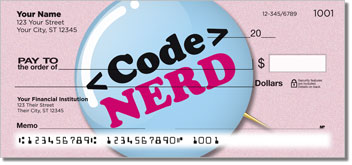 Nerd Pride Checks