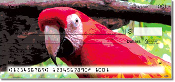 Parrot Personal Checks