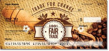 Fair Trade Coffee Personal Checks