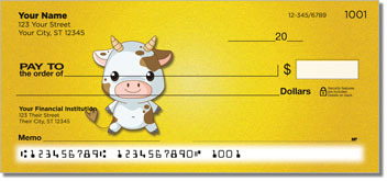 Farm Baby Personal Checks