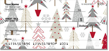 Christmas Tree Personal Checks