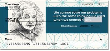 Albert Einstein Checks