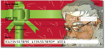 Father Christmas Personal Checks