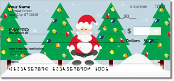 Santa Claus Personal Checks
