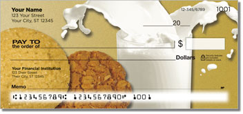 Milk & Cookie Personal Checks